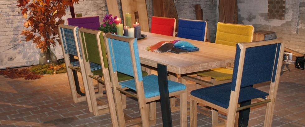 Mak diningchairs presented at DDW2012