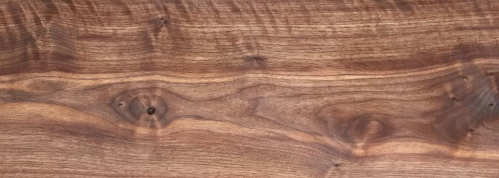 American walnut in oil - Rustic