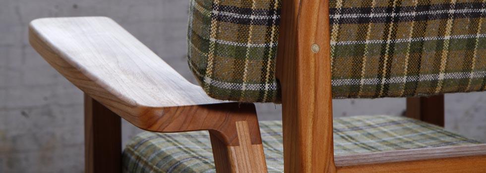 Bron armchair detail by VanDen by Jesse Nelson van den Broek