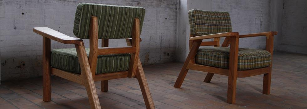 Bron armchair by VanDen (Rust & Lust Collection) by Jesse Nelson van den Broek