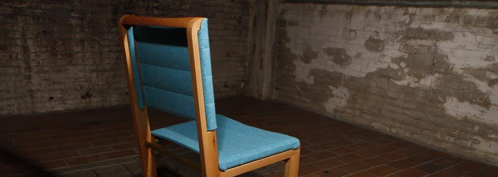 Mak chair light blue by VanDen