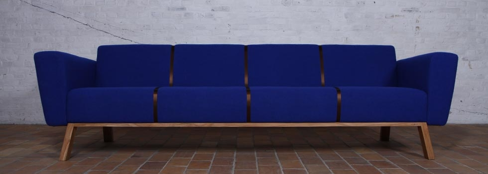Sofa Brad by VanDen Furniture (Rust & Lust Collection) by Jesse Nelson van den Broek