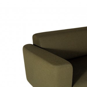 Brad retro design sofa green - VanDen Collection
